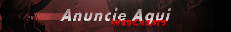 Anuncie na WebCheats