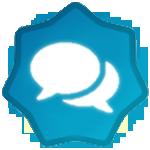 500 Post Badge
