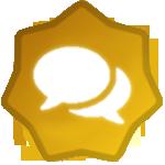 1.000 Post Badge